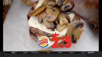 Burger King Mushroom and Swiss Big King TV Spot, '2 for $5: $5 Bill' - Thumbnail 7