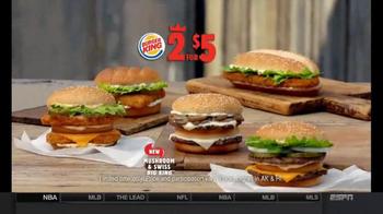 Burger King Mushroom and Swiss Big King TV Spot, '2 for $5: $5 Bill' - Thumbnail 8