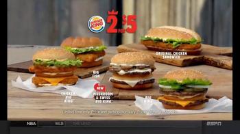 Burger King Mushroom and Swiss Big King TV Spot, '2 for $5: $5 Bill' - Thumbnail 9