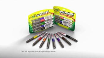 Crayola Visi-Max Dry Erase Markers TV Spot - Thumbnail 10
