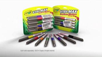 Crayola Visi-Max Dry Erase Markers TV Spot - Thumbnail 9