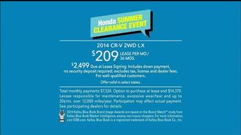 Honda Summer Clearance Event TV Spot, 'Fan' - Thumbnail 10