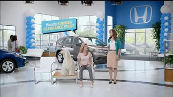 Honda Summer Clearance Event TV Spot, 'Fan' - Thumbnail 4