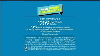 Honda Summer Clearance Event TV Spot, 'Fan' - Thumbnail 9
