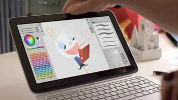Intel Ultrabook TV Spot, 'Look Inside Intel-Powered 2 with Bob Staake'