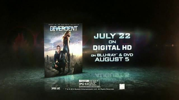 Divergent Digital HD, Blu-ray and DVD TV Spot - 1757 commercial airings