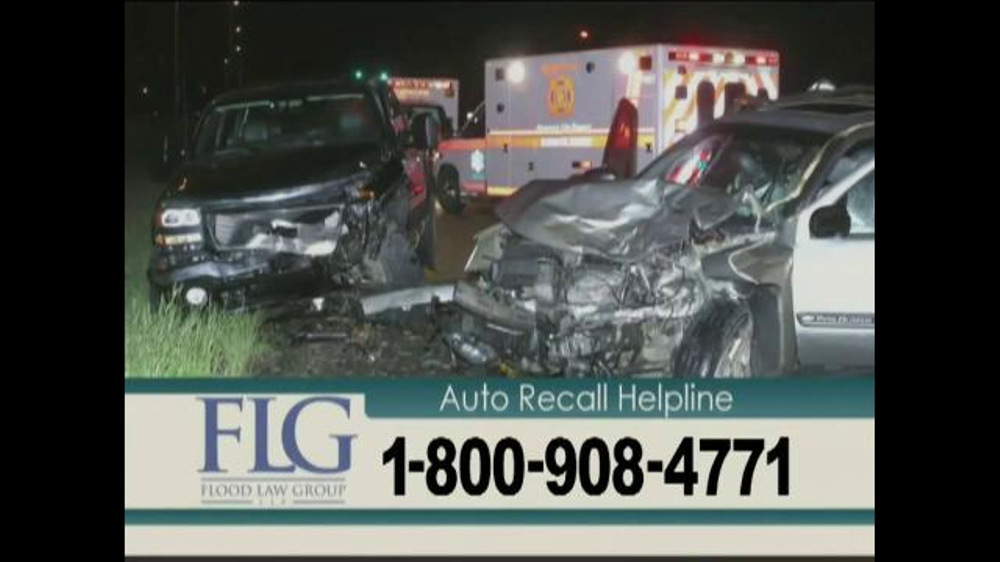 Flood Law Group Tv Commercial Auto Recall Helpline Ispot Tv