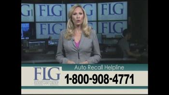Flood Law Group TV Spot, 'Auto Recall Helpline' - Thumbnail 3