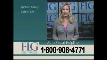 Flood Law Group TV Spot, 'Auto Recall Helpline' - Thumbnail 4