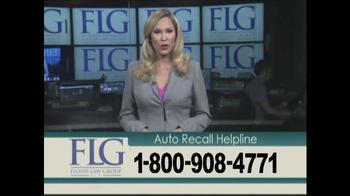 Flood Law Group TV Spot, 'Auto Recall Helpline' - Thumbnail 6