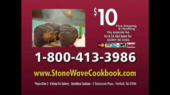 Stone Wave Everyday Stonewave Meals Cookbook TV Spot Feat. Cathy Mitchell - Thumbnail 8
