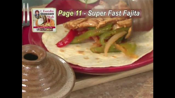 Stone Wave Everyday Stonewave Meals Cookbook TV Spot Feat. Cathy Mitchell - Thumbnail 4