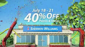 Sherwin-Williams 4-Day Super Sale TV Spot, 'July' - Thumbnail 5