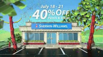Sherwin-Williams 4-Day Super Sale TV Spot, 'July' - Thumbnail 6