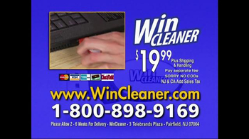 Win Cleaner TV Spot - 2 commercial airings