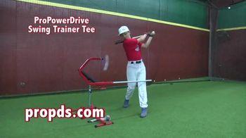 Pro Power Drive Swing Trainer Tee TV Spot