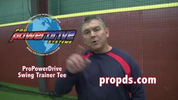 Pro Power Drive Swing Trainer Tee TV Spot - Thumbnail 10