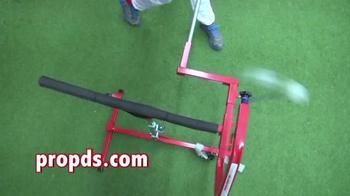 Pro Power Drive Swing Trainer Tee TV Spot - Thumbnail 4