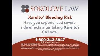 Sokolove Law TV Spot, 'Xarelto' - Thumbnail 10