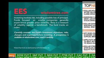 WisdomTree TV Spot, 'SmallCap Earnings Fund' - Thumbnail 9
