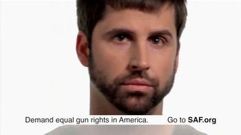 Second Amendment Foundation (SAF) TV Spot, 'Equal Gun Rights'