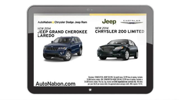 AutoNation Model Year End Sale TV Spot, 'Dodge Comparisons' - Thumbnail 7