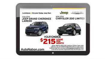 AutoNation Model Year End Sale TV Spot, 'Dodge Comparisons' - Thumbnail 8