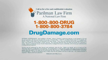 Parilman & Associates TV Spot, 'DrugDamage.com' - Thumbnail 10