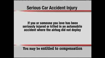 Pulaski & Middleman TV Spot, 'Serious Car Accident Injury' - Thumbnail 1