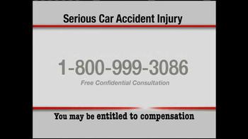 Pulaski & Middleman TV Spot, 'Serious Car Accident Injury' - Thumbnail 3