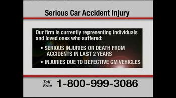 Pulaski & Middleman TV Spot, 'Serious Car Accident Injury' - Thumbnail 6