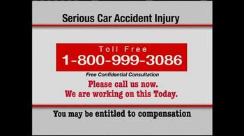 Pulaski & Middleman TV Spot, 'Serious Car Accident Injury' - Thumbnail 8
