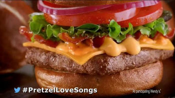 Wendy's Pretzel Bacon Cheeseburger TV Spot, 'To Be With You' - Thumbnail 10