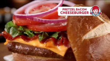 Wendy's Pretzel Bacon Cheeseburger TV Spot, 'To Be With You' - Thumbnail 9