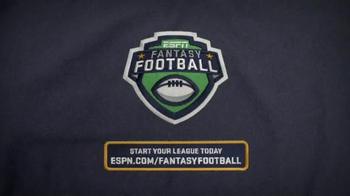 ESPN Fantasy Football TV Spot, 'Rookie Mistake' - Thumbnail 8