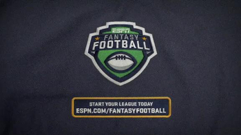 ESPN Fantasy Football TV Spot, 'Rookie Mistake' - Thumbnail 7