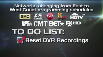 Xfinity TV Spot, 'Eastern to Pacific Time Zone Schedules' - Thumbnail 7