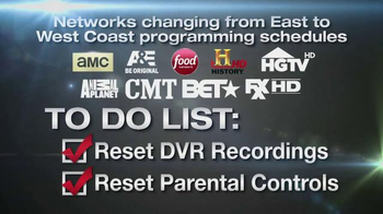 Xfinity TV Spot, 'Eastern to Pacific Time Zone Schedules' - Thumbnail 8