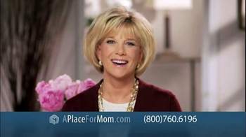 A Place For Mom Free Senior Living Referral TV Spot Featuring Joan Lunden - Thumbnail 1