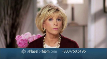 A Place For Mom Free Senior Living Referral TV Spot Featuring Joan Lunden - Thumbnail 2