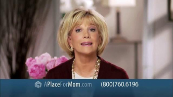 A Place For Mom Free Senior Living Referral TV Spot Featuring Joan Lunden - Thumbnail 4
