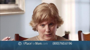 A Place For Mom Free Senior Living Referral TV Spot Featuring Joan Lunden - Thumbnail 5