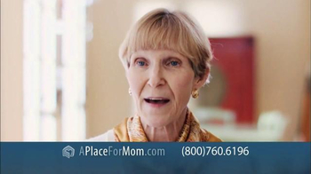 A Place For Mom Free Senior Living Referral TV Spot Featuring Joan Lunden - Thumbnail 6
