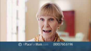 A Place For Mom Free Senior Living Referral TV Spot Featuring Joan Lunden - Thumbnail 7
