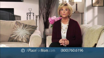 A Place For Mom Free Senior Living Referral TV Spot Featuring Joan Lunden - Thumbnail 8