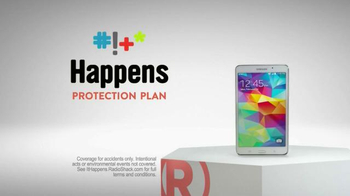 Radio Shack Protection Plan TV Spot, 'Free Screen Protector & Installation' - 506 commercial airings