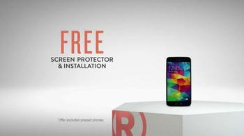 Radio Shack Protection Plan TV Spot, 'Free Screen Protector & Installation' - Thumbnail 8