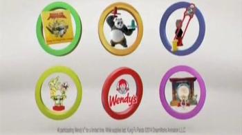Wendy's Kung Fu Panda Kids' Meal TV Spot, 'The Wilsons' - Thumbnail 7