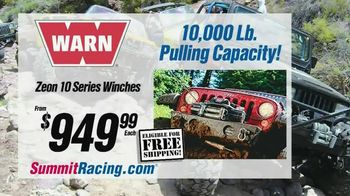 Summit Racing Equipment TV Spot, 'Keep Your Jeep Running Strong'