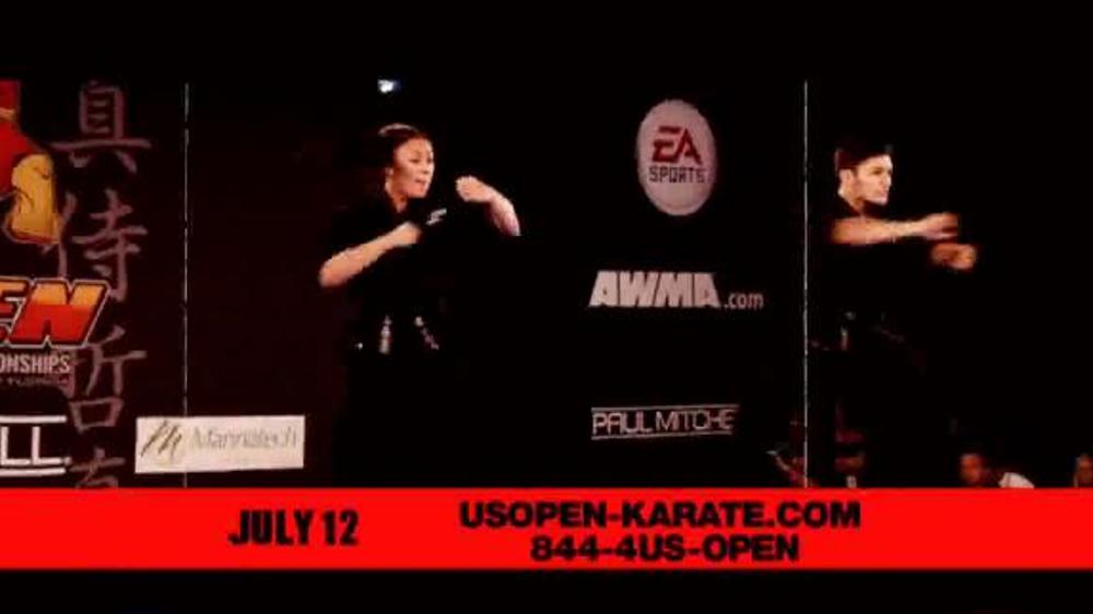 U.S. Open World Martial Arts Championships TV Spot